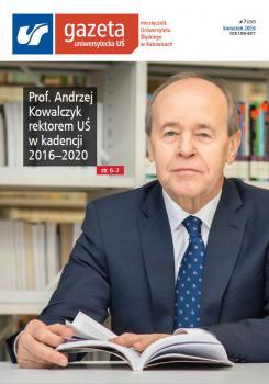 Okładka Gazety Uniwersyteckiej